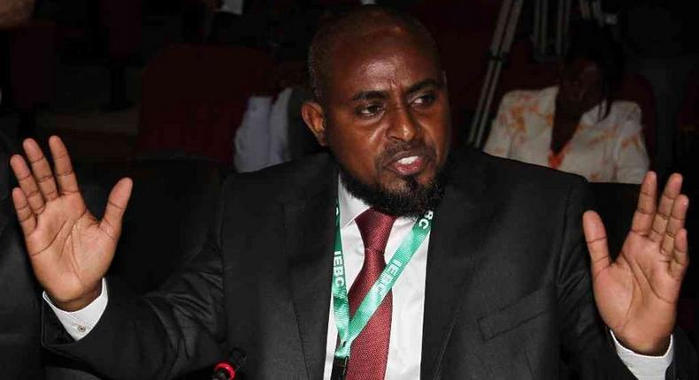 Presidential candidate Abduba Dida.