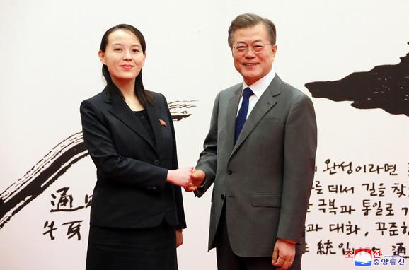 Nekad osmesi a danas oštra saopštenja - Kim Jo Džong i Mun Dže In