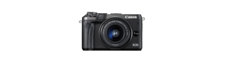 Aparat – Canon EOS M6 +15-45 IS STM