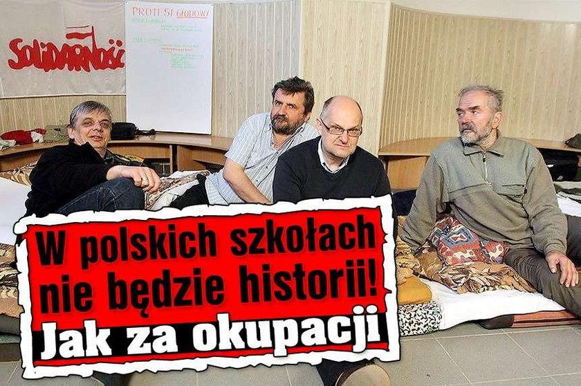 W polskich szkołach nie będzie historii. Jak za okupacji!