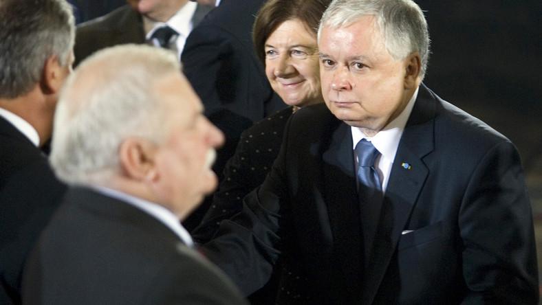 Kaczyński chce procesu z Wałęsą