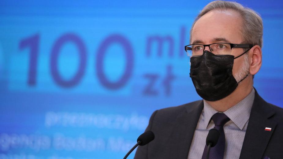Koronawirus. Minister zdrowia: mamy dynamiczny wzrost zakażeń COVID-19