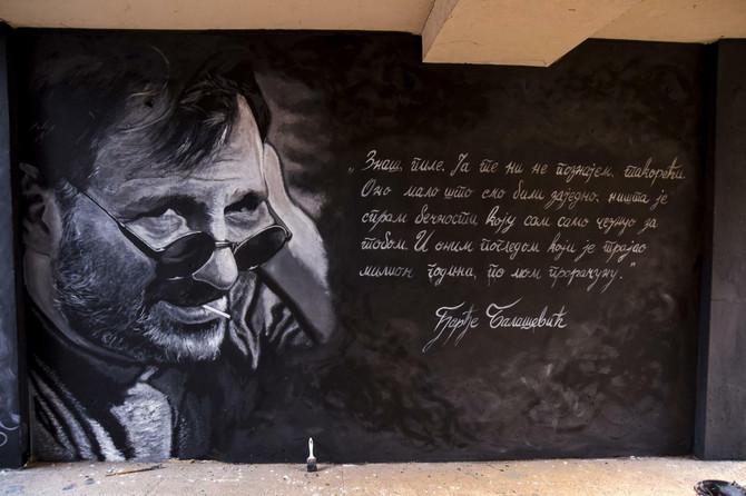 Novi mural posvećen Đorđu Balaševiću u Novom Sadu