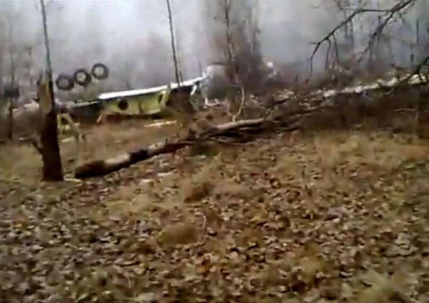 Tupolew płonął na moich oczach