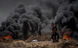Najkrwawszy dzień w Strefie Gazy od paru lat: 58 Palestyńczyków zabitych w starciach z izraelskimi siłami