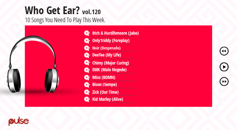 Who Get Ear Vol. 120: Here are the 10 Nigerian songs you need to play this week