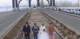 Filmowali swój ślub. Za ich plecami rozgrywał się dramat