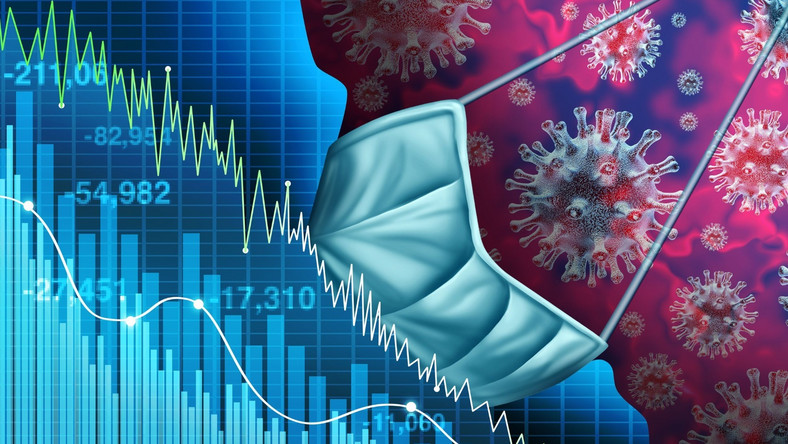 Koronawirus giełda kryzys