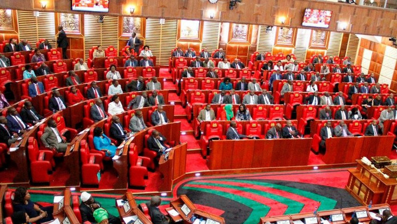Kenyan Parliament in session