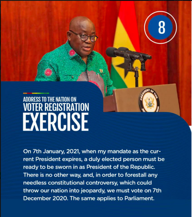 Nana Addo's address