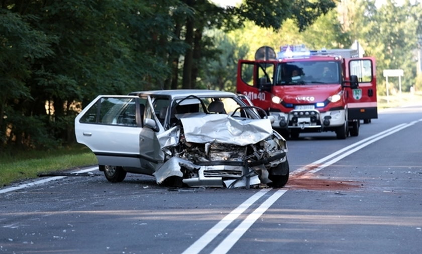 Groźny wypadek pod Świdnicą
