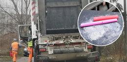 Kierowca śmieciarki wciągał amfetaminę podczas przerwy w pracy