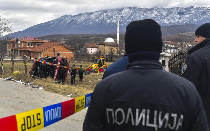 Makedonska policija, EPA -GEORGI LICOVSKI