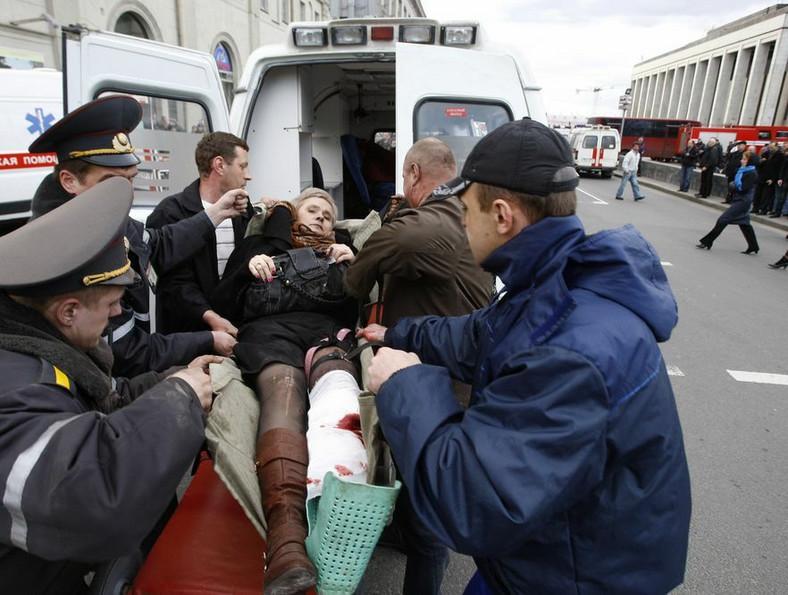 Wybuch w metrze w Mińsku. Są zabici i dziesiątki rannych