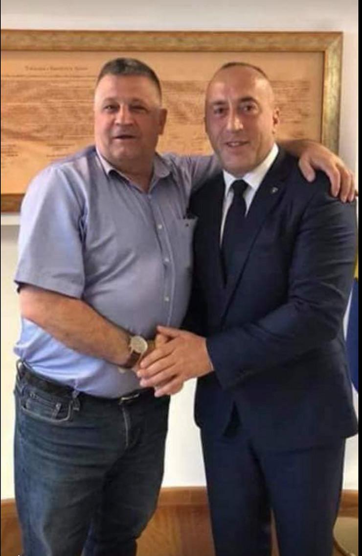 Nasim i Ramuš Haradinaj