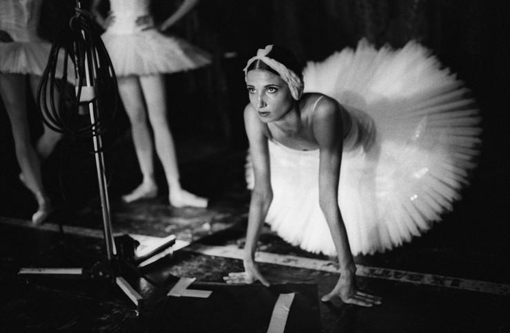 Sasha Gusov Swan Lake. Backstage. London, 2016