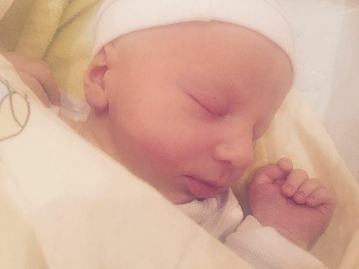 Nowo narodzony syn Izabelli Łukomskiej-Pyżalskiej