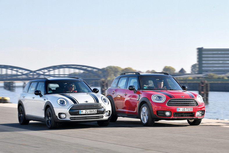 Mini Clubman i Mini Countryman