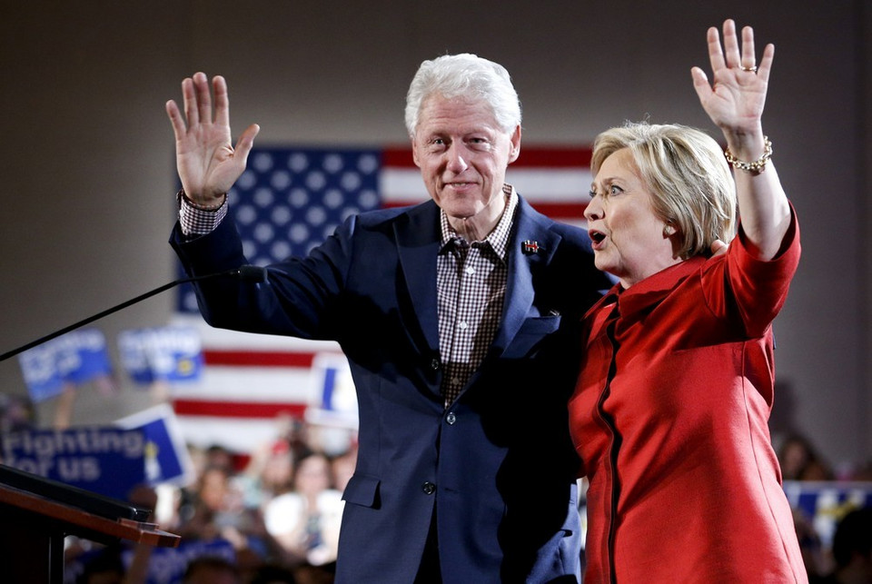 10. Bill i Hillary Clinton