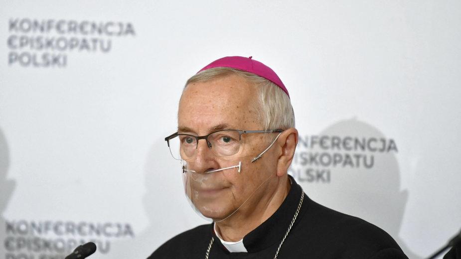 Przewodniczący KEP abp Stanisław Gądecki