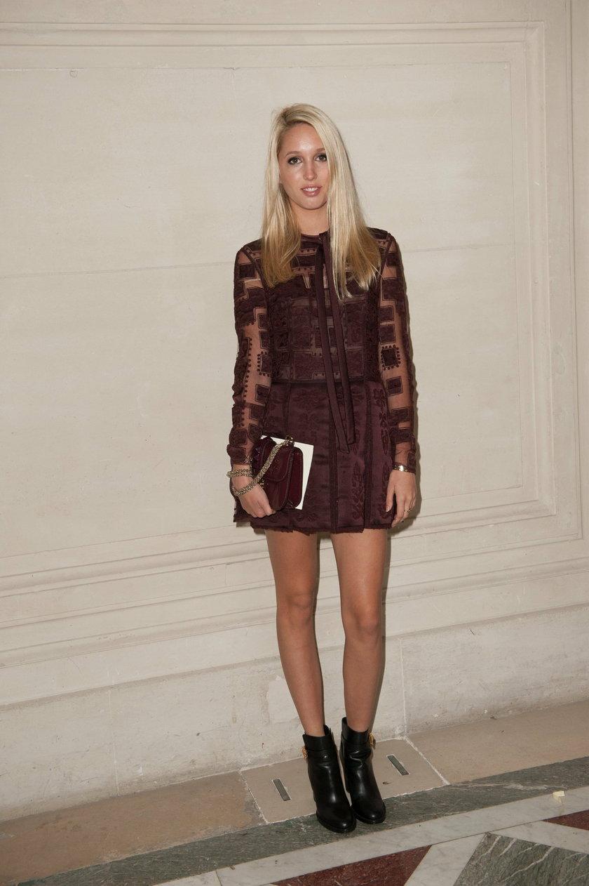 Maria Olimpia Haute-Couture Fashion Week - Valentino Front Row - Paris