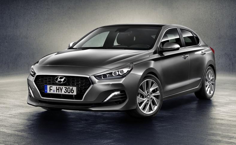 Hyundai i30 Fastback jest dostępny w 12 kolorach nadwozia