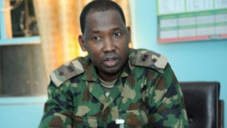 Acting Director, Army Public Relations, Col. Sagir Musa (PM News)