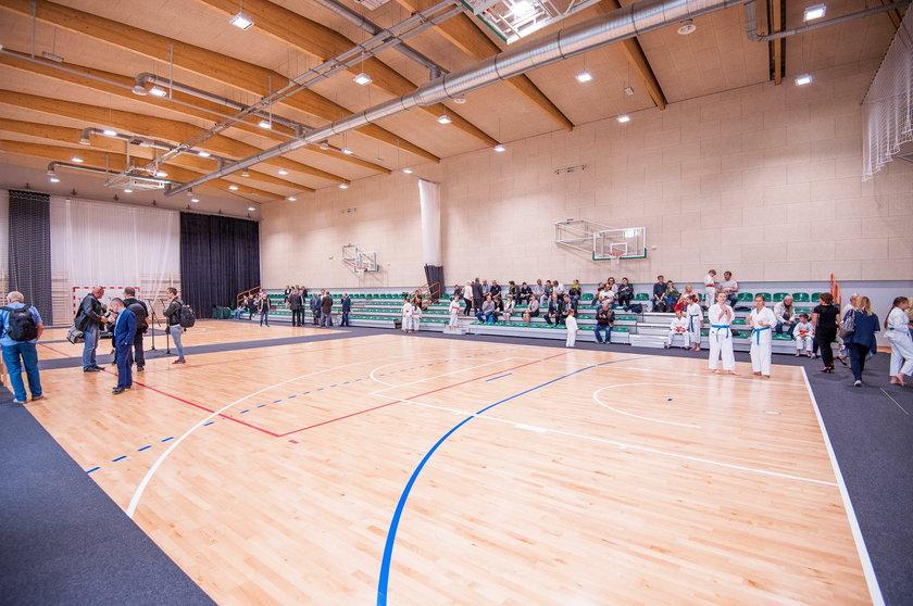 Sala gimnastyczna w MDK Dom Harcerza