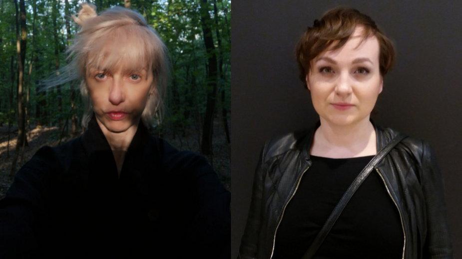 Justyna Sobczyk i Justyna Lipko-Konieczna (fot. materiały Teatru 21)