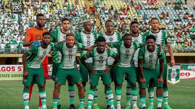 Super Eagles players put in a disastrous performance against CAR (Instagram/Super Eagles)