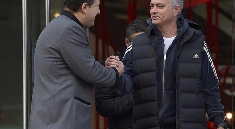 Jose Mourinho checks out of Lowry Hotel in Manchester after his sacking