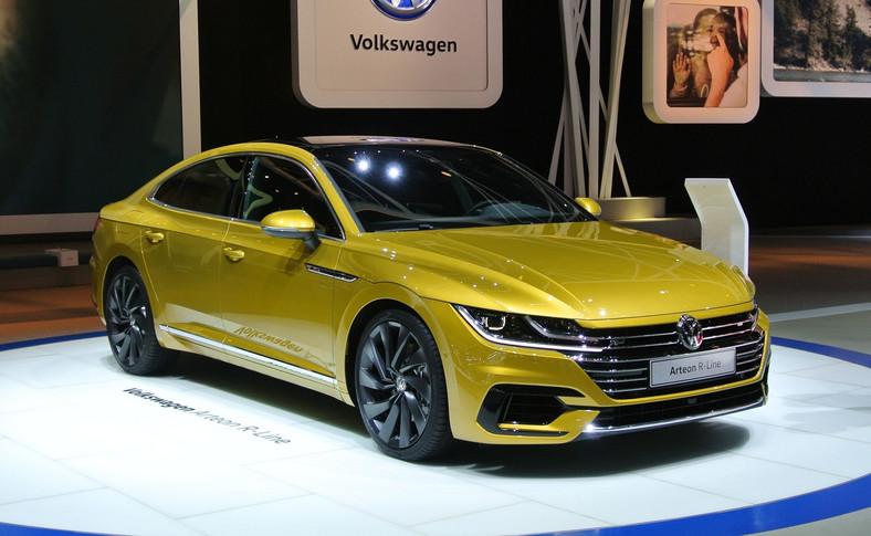 Volkswagen arteon został skonstruowano od podstaw i w hierarchii VW zajmie pozycję powyżej passata