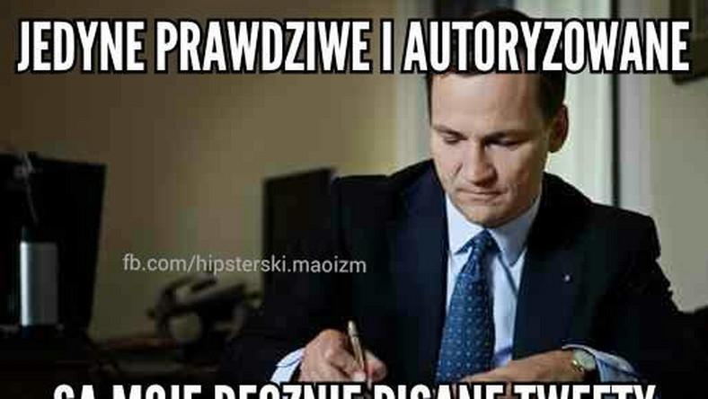"""Radosław Sikorski zarzucił dziennikarzowi """"Politico"""" brak możliwości autoryzacji. Marszałek Sejmu ufa tylko własnym tweetom."""