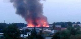 Wielki pożar w Zawierciu! Słup dymu nad miastem