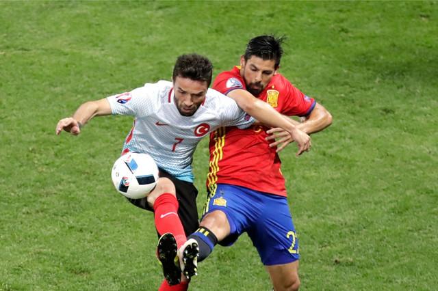 Fudbalska reprezentacija Španije, Fudbalska reprezentacija Turske