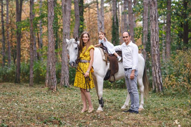 Princeza i princ sa ćerkicom Natalijom, foto: ustupljena fotografija/Nenad Jakovljević