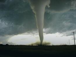 Mali tornado koji je uništio useve u Moraviću