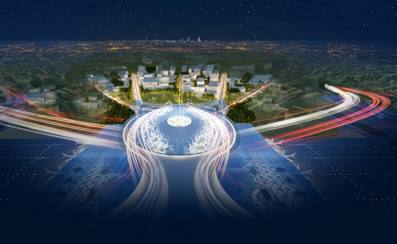 05 Terminal CPK. Koncepcja Grimshaw Architects
