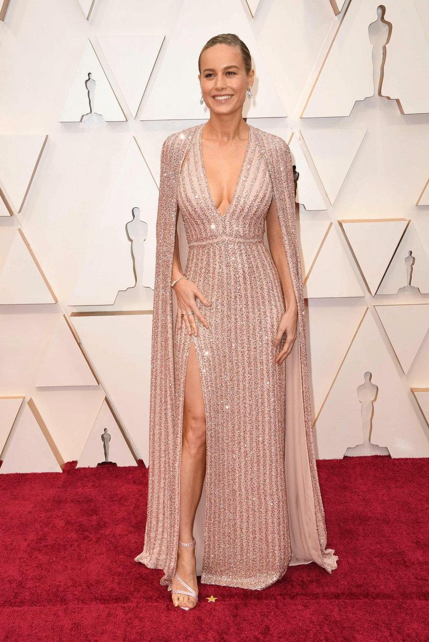 Brie Larson na 92. gali rozdania Oscarów