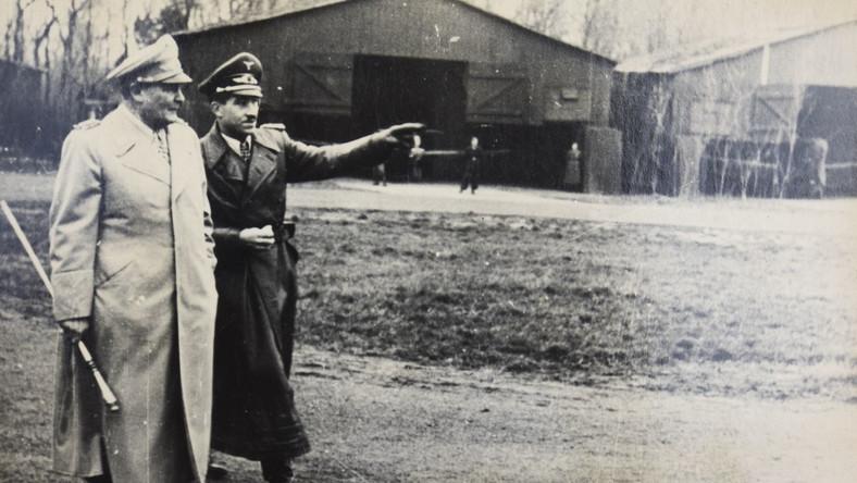 Hermann Goering i gen. Adolf Galland
