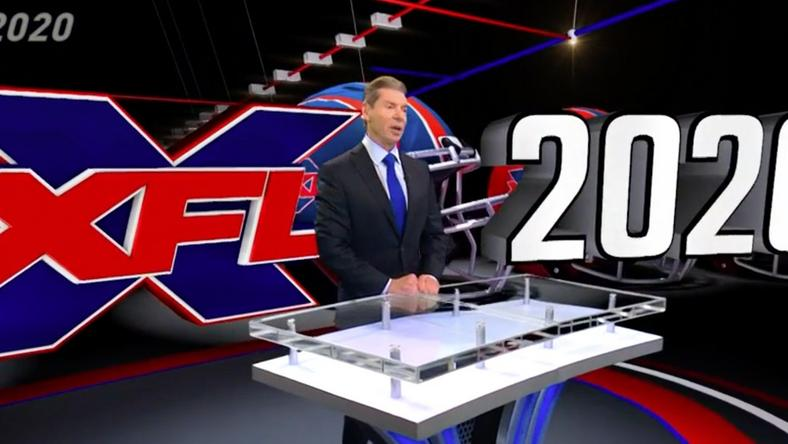 Vince McMahon will attempt to bring back the XFL in 2020, starting with eight teams in eight cities across the country.