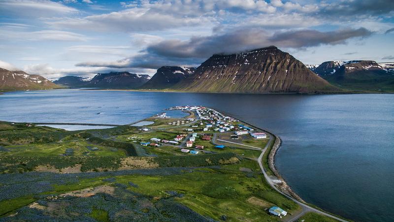 Islandia z drona