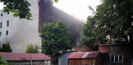 Pożar dawnej fabryki na Kilińskiego