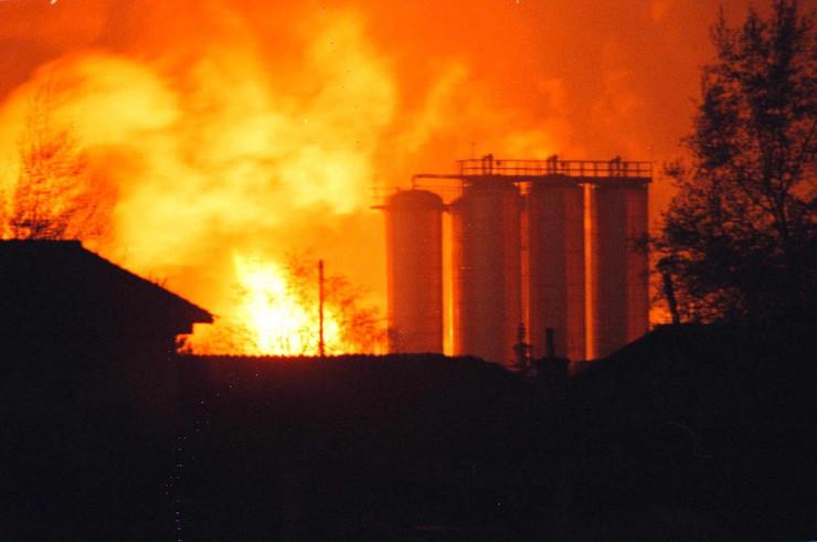 nato bombardovanje 1999 god 02 arhivska fotografija EPA DMITRI KHRUPOV