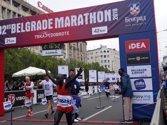 Pobednik 32. Beogradskog maratona