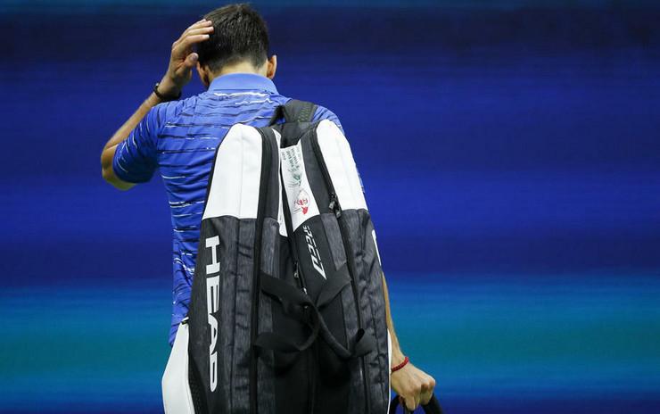 Novak Đoković na US Openu 2019. godine
