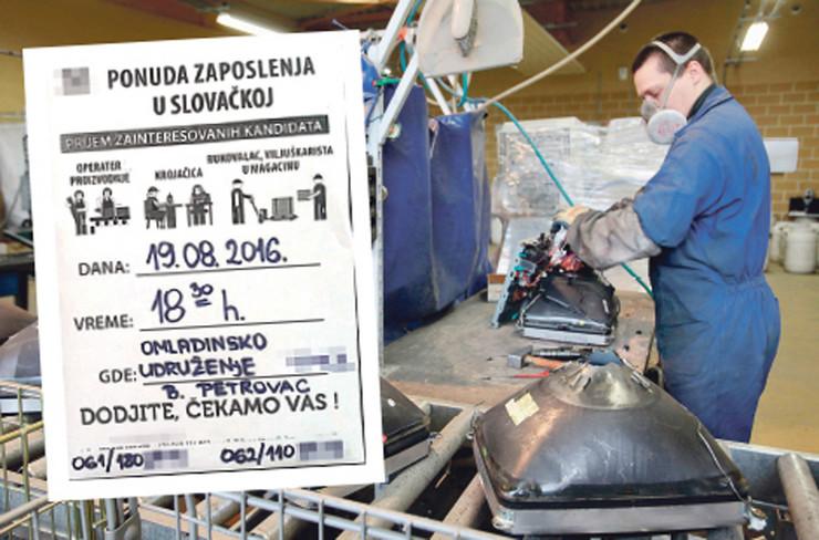 ponuda posla zaposlenja u slovackoj fto RAS