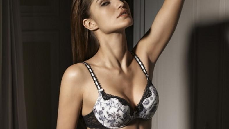 Brazylijska modelka Juliana Martins stylowej sesji prezentuje bieliznę Lejaby
