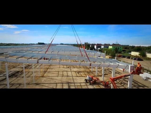 CoBouw Polska. Sp. z o.o. Hale stalowe, projektowanie i generalne wykonawstwo - wideo