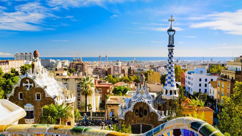 Park Guella, Barcelona, Hiszpania
